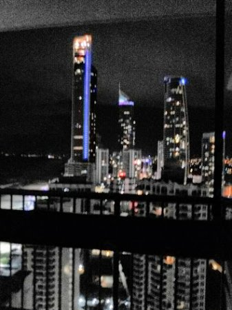 BreakFree Imperial Surf: Took this from my bed!! view of beach and city Feb 15-22 2017 Apt 30A