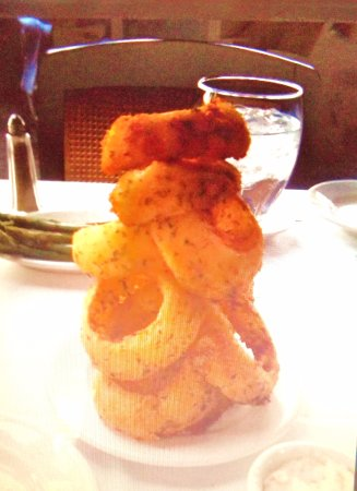 La Quinta, Kaliforniya: Tower of Onion Rings