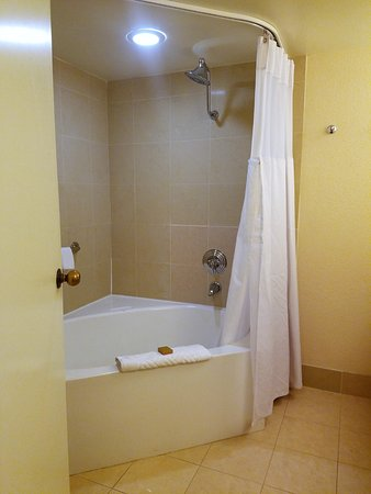 corner garden tub. Tropicana Las Vegas - A DoubleTree By Hilton Hotel: Corner Garden Tub
