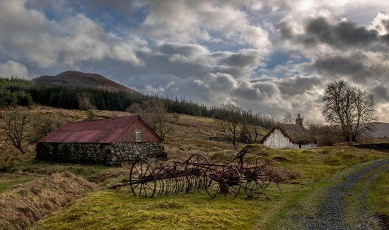 Auchindrain Highland Farm Township: Definately worth a visit here. Staff are very friendly and knowledgeable.
