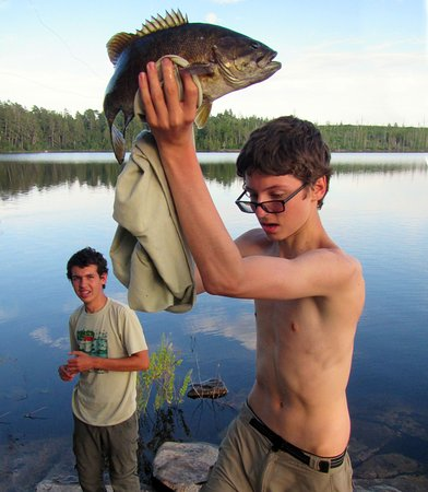 Atikokan, Kanada: What a fish? and it was not the only one.