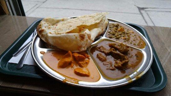 "Thali Cuisine Indienne: Thali ""non-végé"""