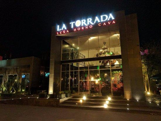 La Torrada: Facade of the restaurant