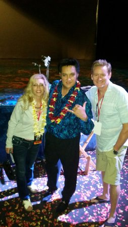 Burn'n Love: My wife, Amy and I with the incomparable Darren Lee!