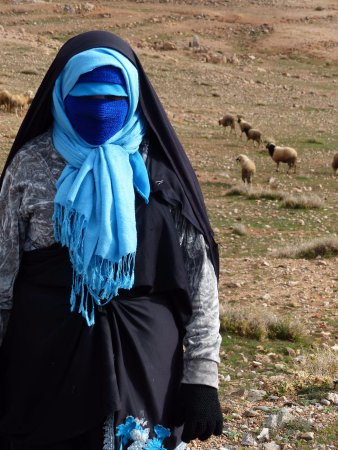Morocco Explored - Day Tours: Watching her sheep