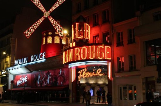 Moulin Rouge Show with Skip the Line...