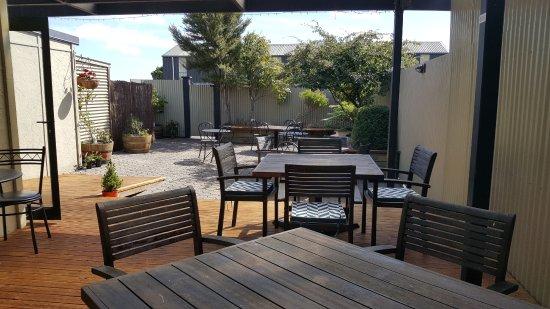 Westport, Nuova Zelanda: Our courtyard