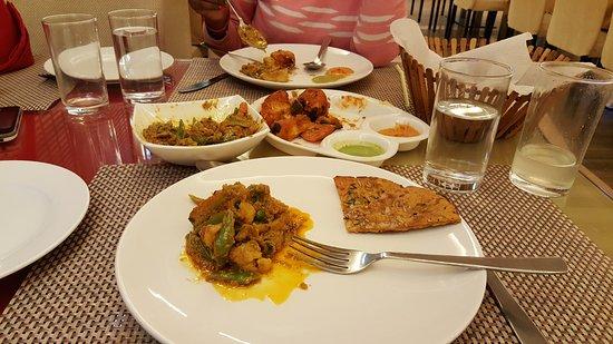 Biratnagar, เนปาล: Strickly vegetarian restaurant