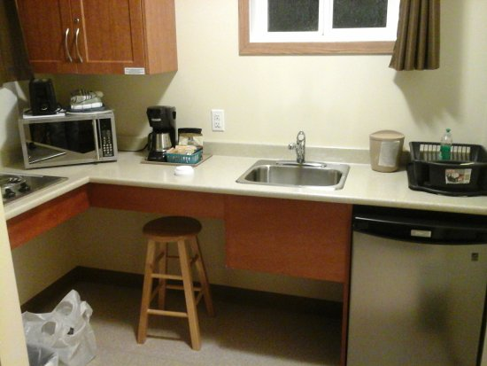 Vanderhoof, Canada: kitchenette