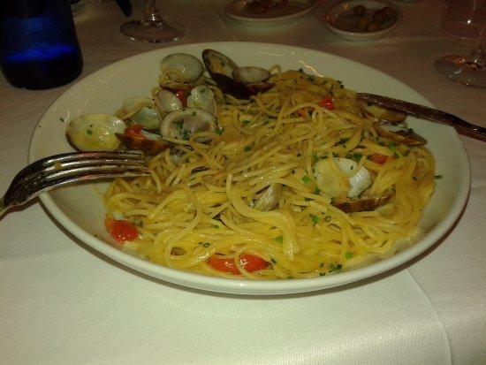 La Tagliatella: Паста с морепродуктами