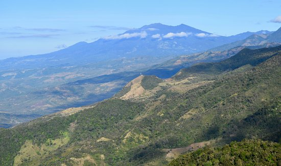 Chiriqui Province, Panama: View of Volcano Baru from Lost & Found!