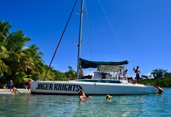 Bocas Town, Panama: Sailing is the best way to visit places around Bocas del Toro.