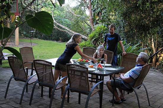 Atherton, Australien: Outside patio