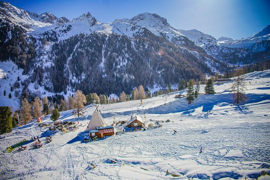 Siviez, Suiza: Free  Avalanche self-training facility