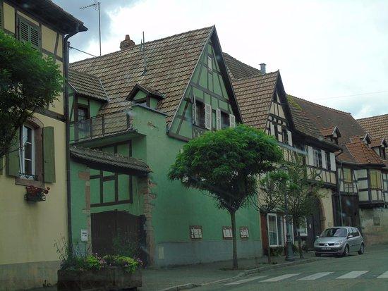 Dambach-la-Ville, Francia: maisons alsaciennes