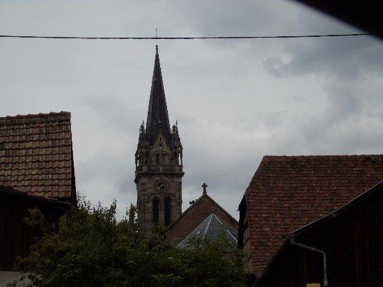 Dambach-la-Ville, Francia: clocher