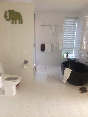 Cera Resort Chaam: View from the front door of the room