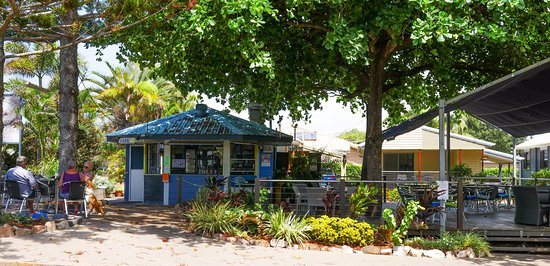 Serenity Cove Cafe - situated at the front of the Woodgate Beach Tourist Park
