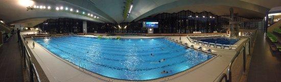 Hotel D'Coque : La piscine olympique