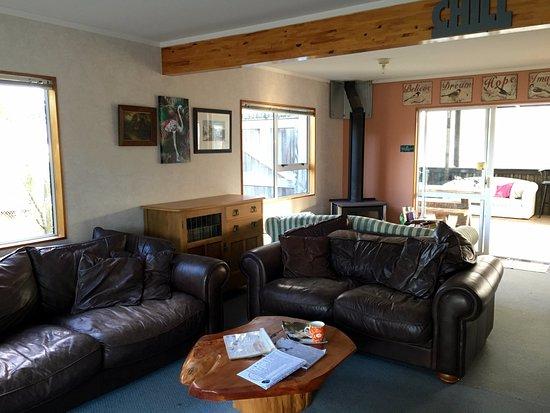 Mangawhai, New Zealand: lounge area