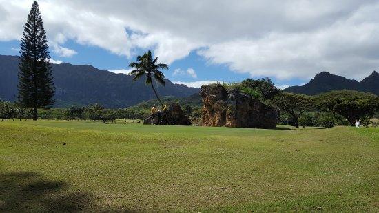 Waimanalo, HI: コオラウ山脈の景観