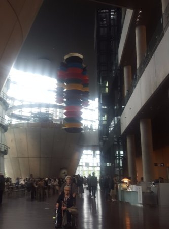 The National Art Center, Tokyo: The lobby