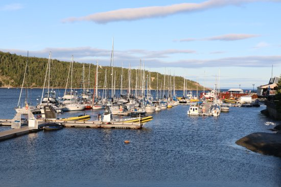 Harbour in Tadoussac