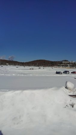 Megami Lake : 湖です
