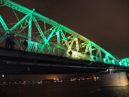 Truong Tien Bridge: Emerald Green