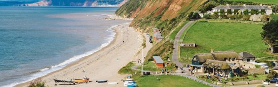 Бранскомб, UK: Branscombe Beach