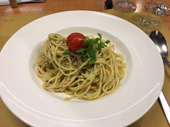 La Croix Verte: Spaghetti Aglio & Olio, Peperoncino
