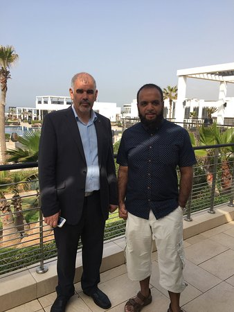Sofitel Agadir Thalassa Sea & Spa: The gentleman on the left is the Manager I spoke about in my review.