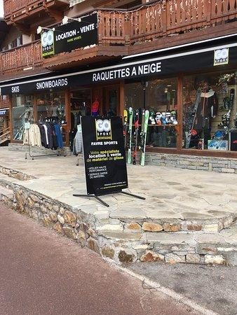 Pralognan-la-Vanoise, فرنسا: Favre Sports est désormais affilié au groupe Go Sport Montagne