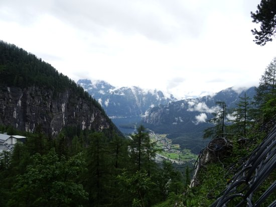 Alta Austria, Austria: View from mouth of cave.