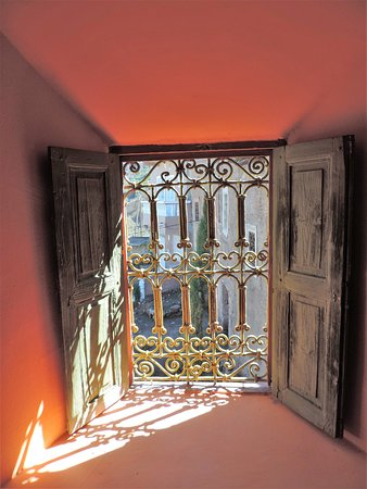 Ecomusee Berbere : From inside the Museum house.