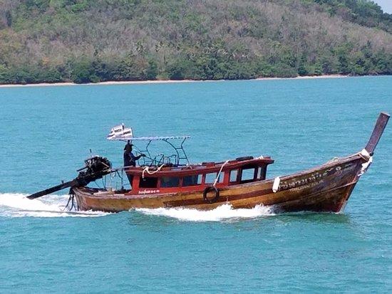 Ao Luek, Thailand: Thai long-tail boat
