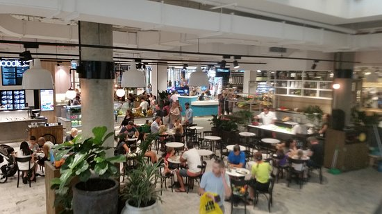 Warringah, Australia: Food court