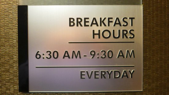 San Bruno, Califórnia: Frühstückszeiten