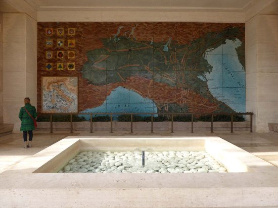 Tavarnuzze, Italia: Übersichtskarte des Vormarschs im memorial