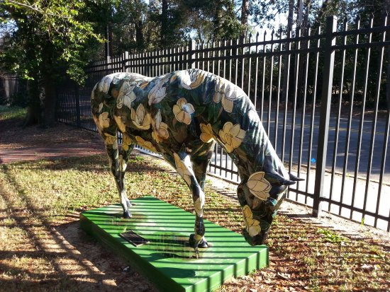 Aiken, SC: Horse sculpture (there are several more)