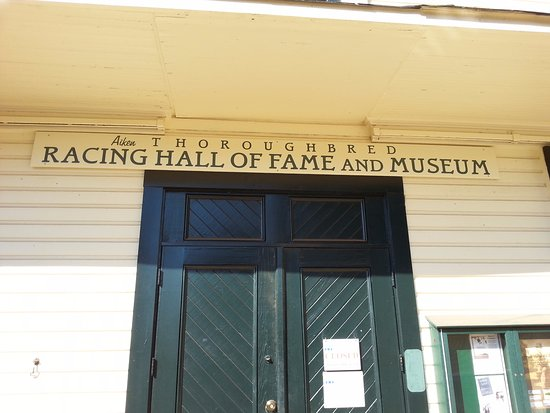 Aiken, SC: Racing Hall of Fame on the property