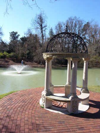 Aiken, SC: One of a few sculptures on the property