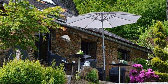 Laniscat, Francja: Salon de jardin la métairie de roch