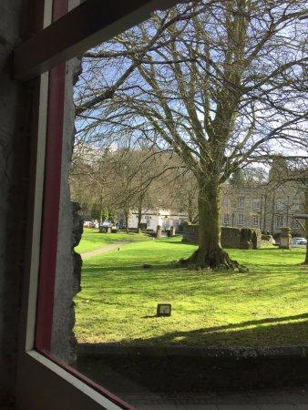 Tavistock, UK: View from the upstairs room.
