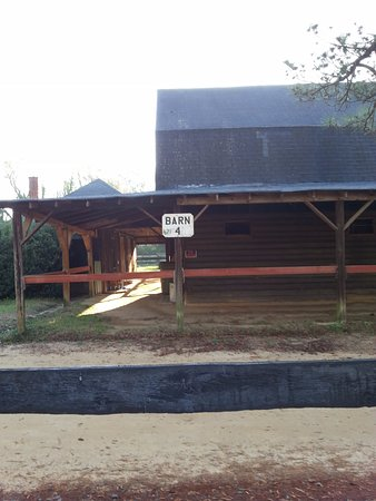 Aiken, SC: One of the barns on the property