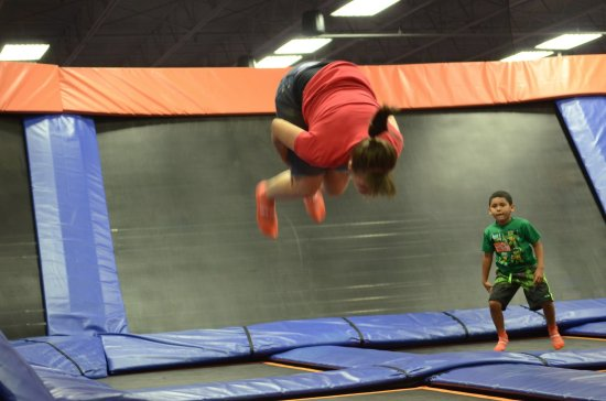 Nicholasville, KY : doing a front flip