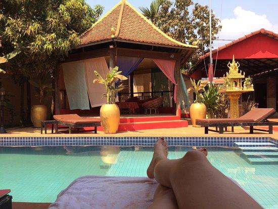 Sun Sothy Guesthouse: Un endroit très zen :-)