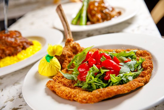 Veal Chops Milanese with Lemon and Herbs Recipe | MyRecipes |Veal Milanese