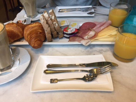 't Hotel: Frühstück