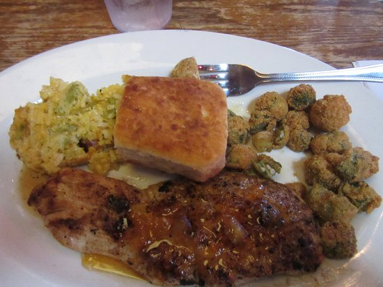Grenada, MS: My awesome lunch special!